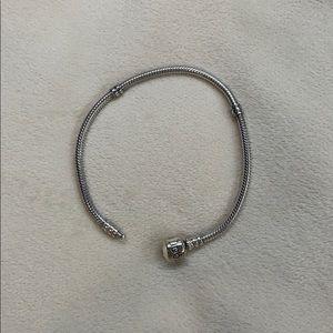 Silver Pandora Bracelet 7.5